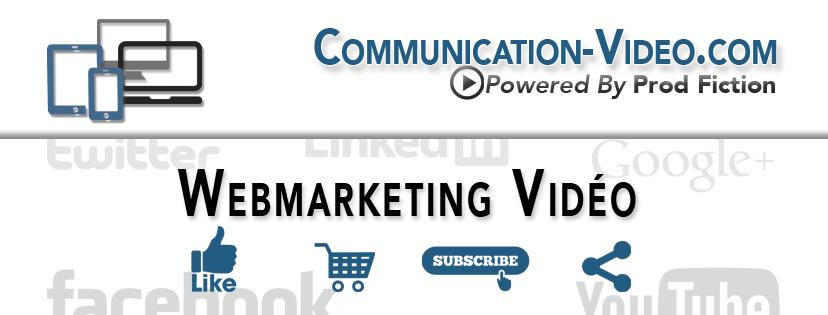 Communication-Video.com, des solutions webmarketing vidéo développées par Prod Fiction